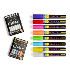 8 neon liquid chalk markers and free chalk