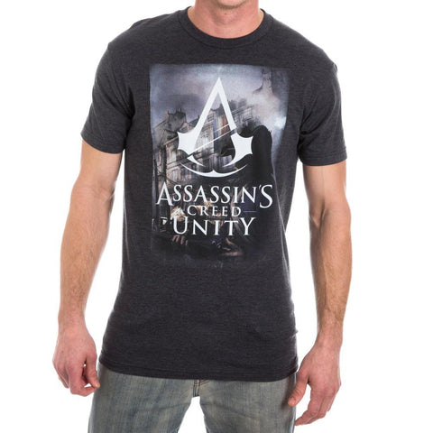 Assassin's Creed Logo Mens Black T-Shirt