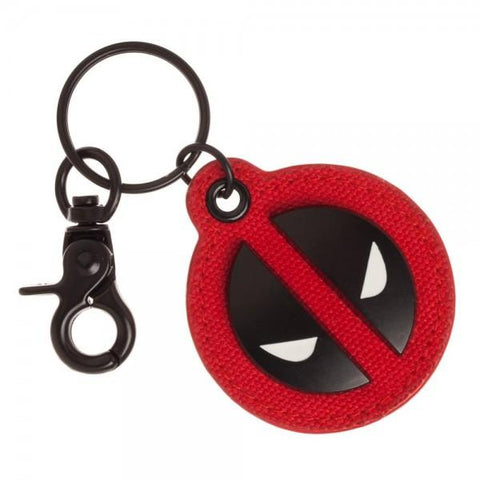 Deadpool Canvas Metal Keychain