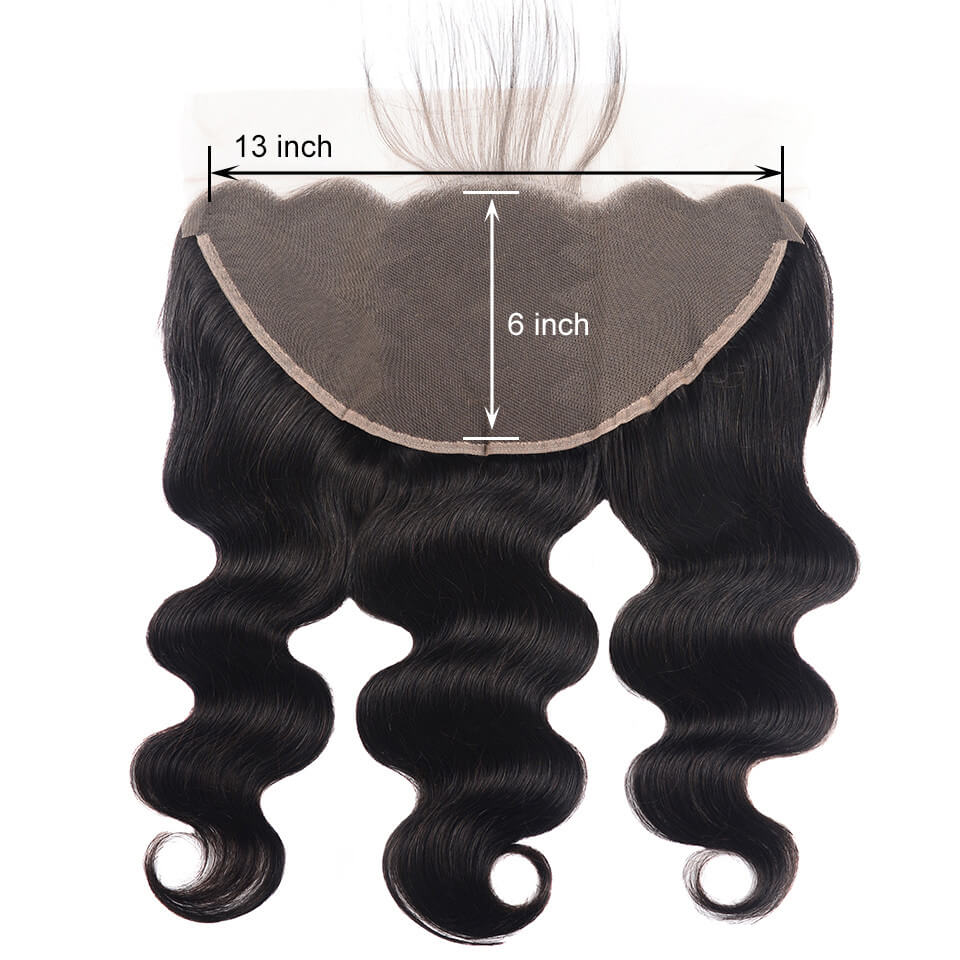13x6 body wave hair lace frontal