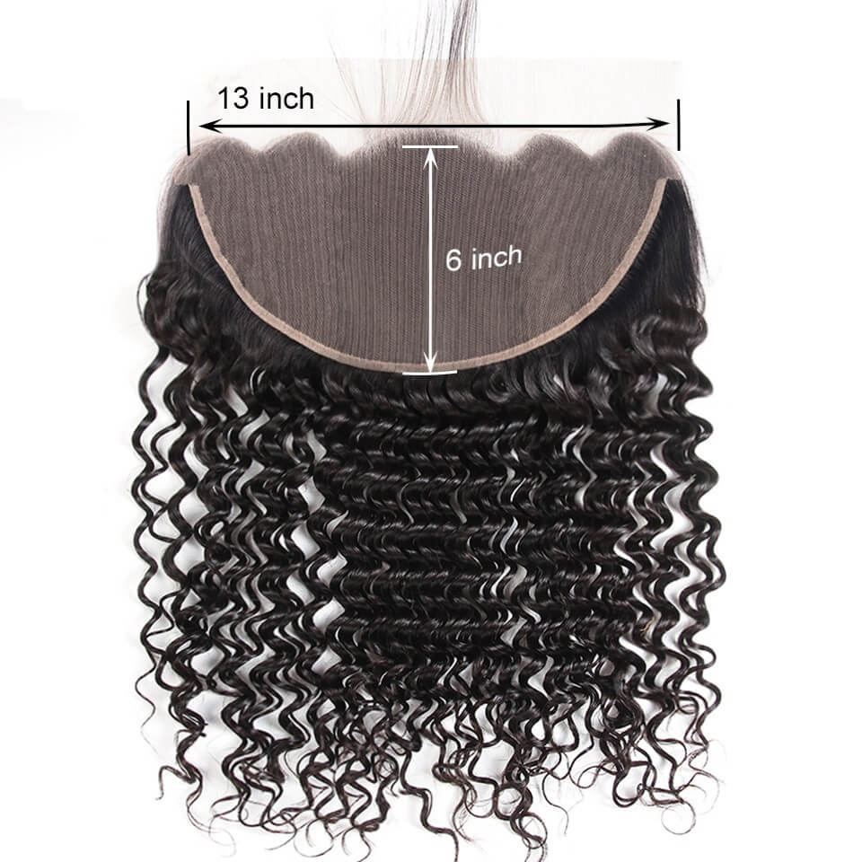 13x6 deep wave lace frontal