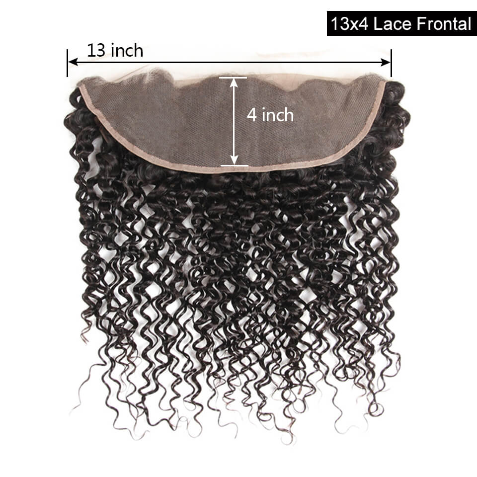13x4 curly hair lace frontal