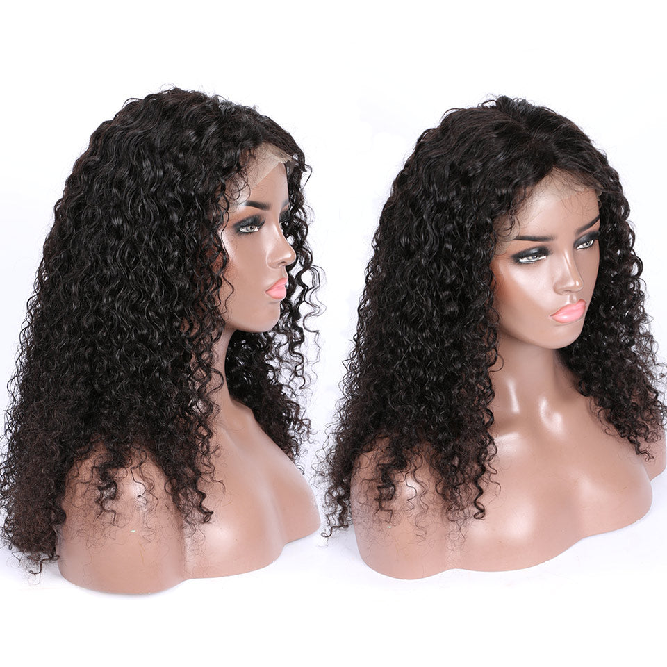 360 curly lace wigs