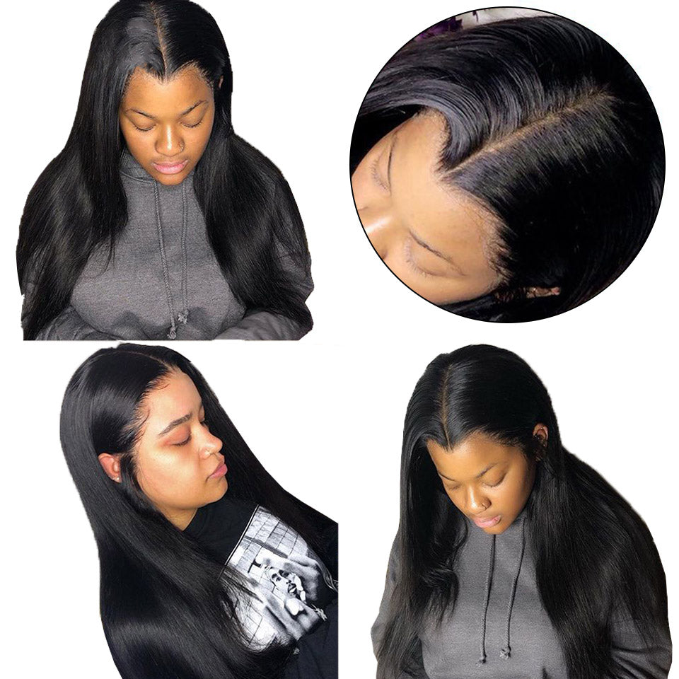370 straight lace wigs human hair wigs