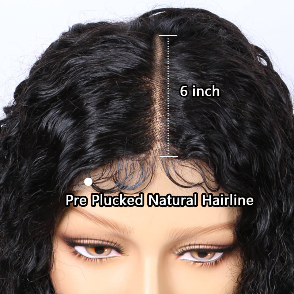 370 water wave lace wig