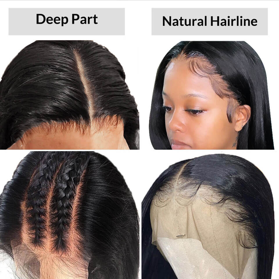 370 lace wigs with baby hair
