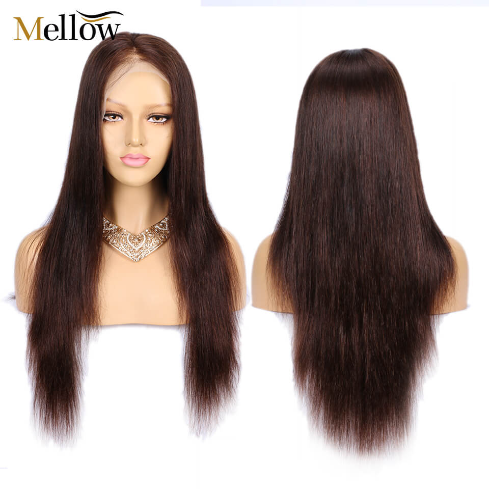 #4colored straight hair wigs