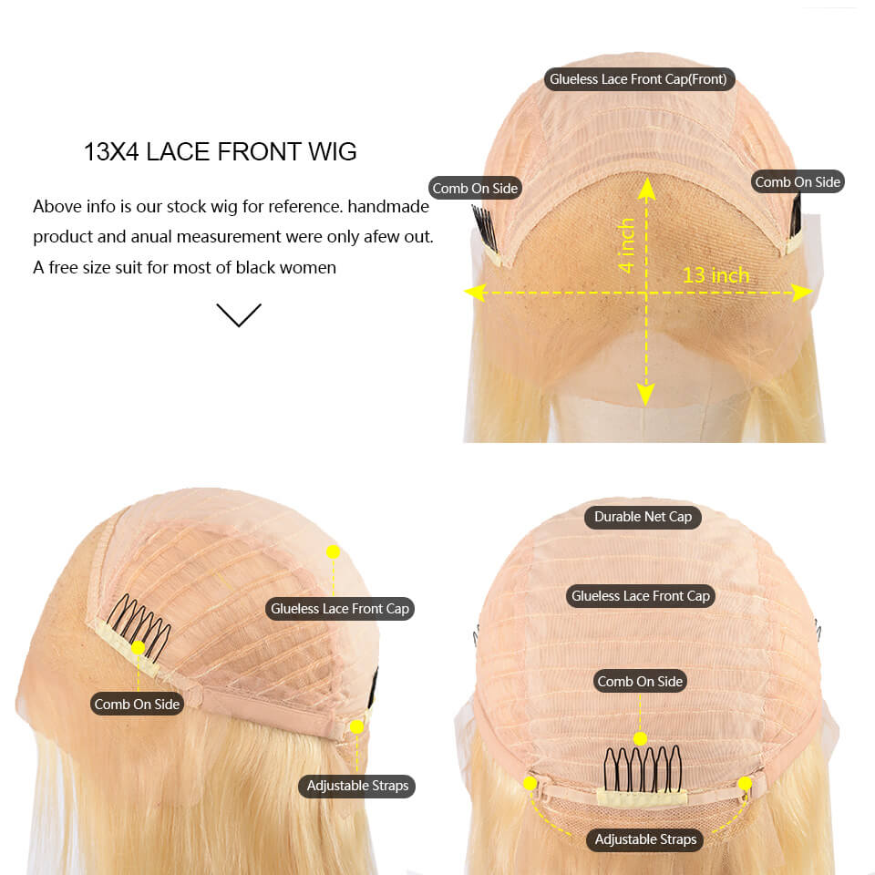 613-13x4 lace front wigs
