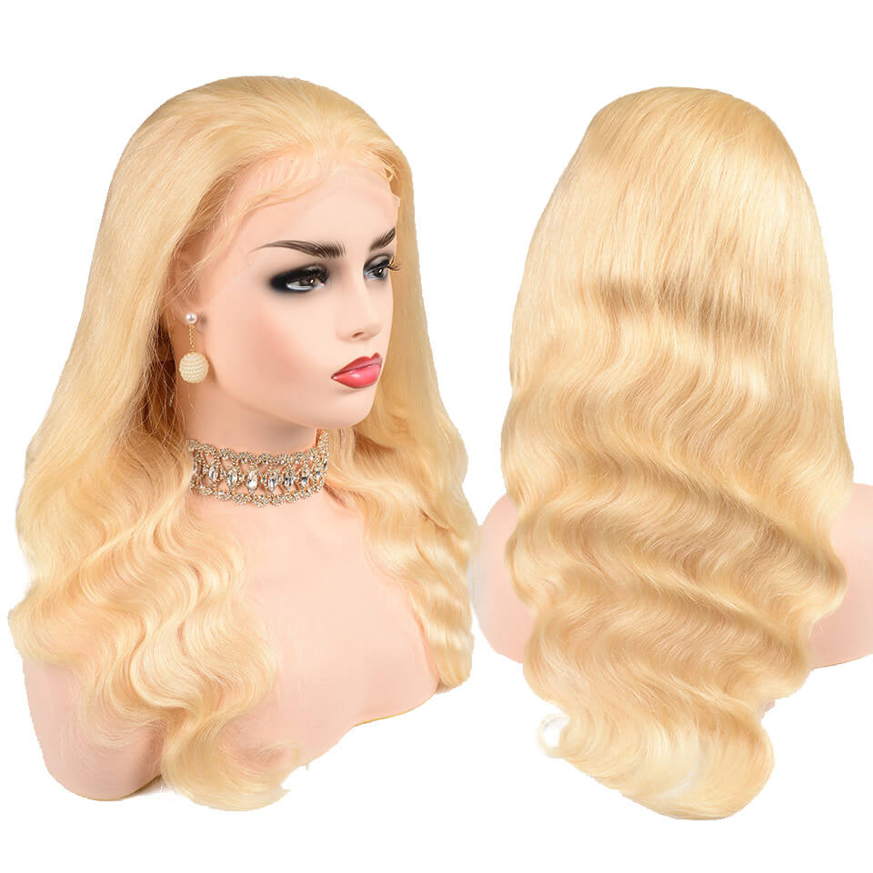 613 body wave 13x6 lace front wigs with baby hair