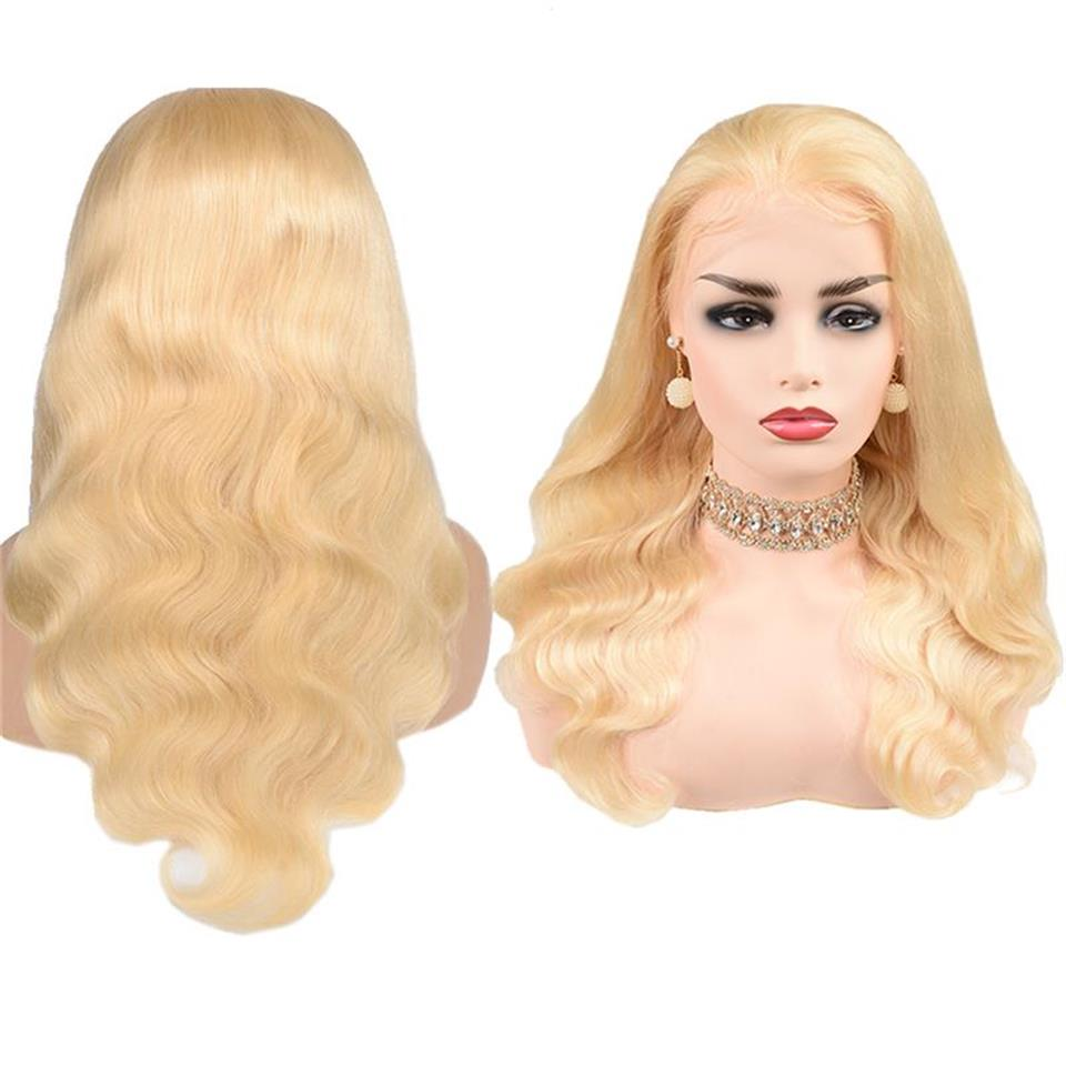 613 body wave 5x5 lace closure wigs with baby hair