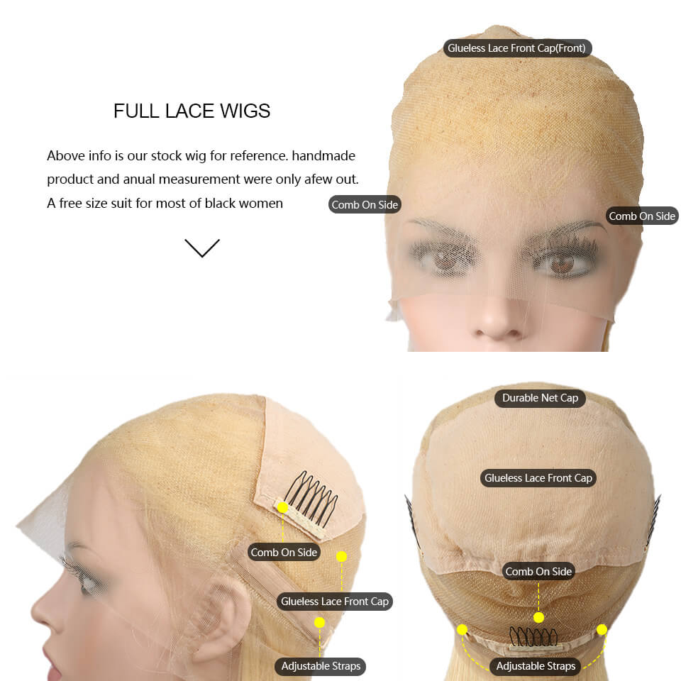 613 full lace wigs