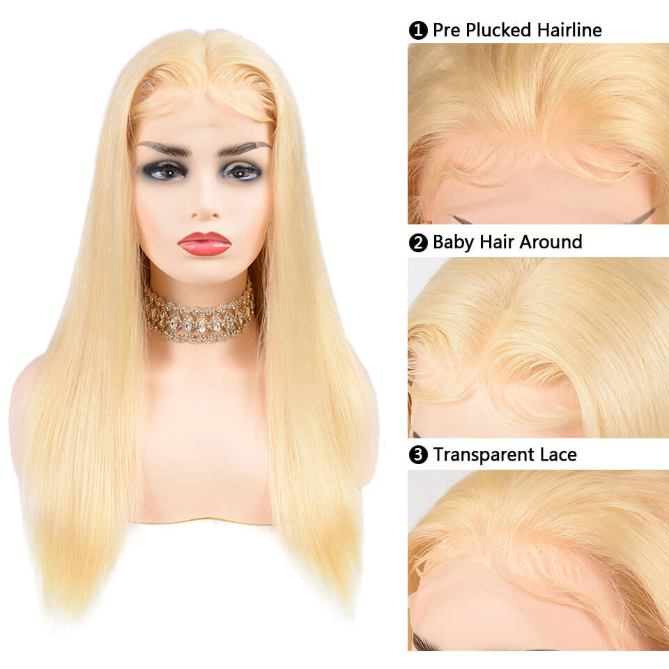 613 full lace wigs straight hair