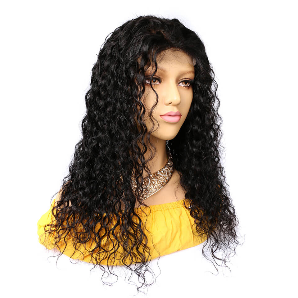 6x6 water wave lace closure wigs