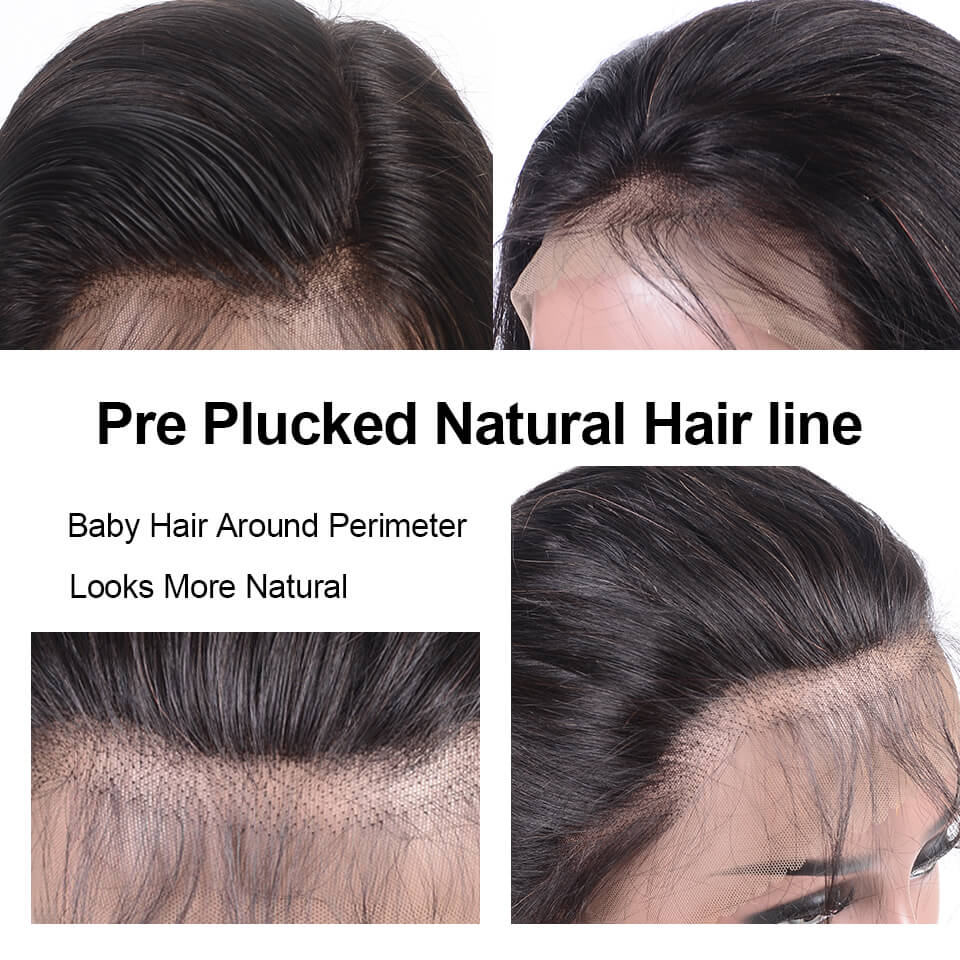 pre plucked hairline babyhair