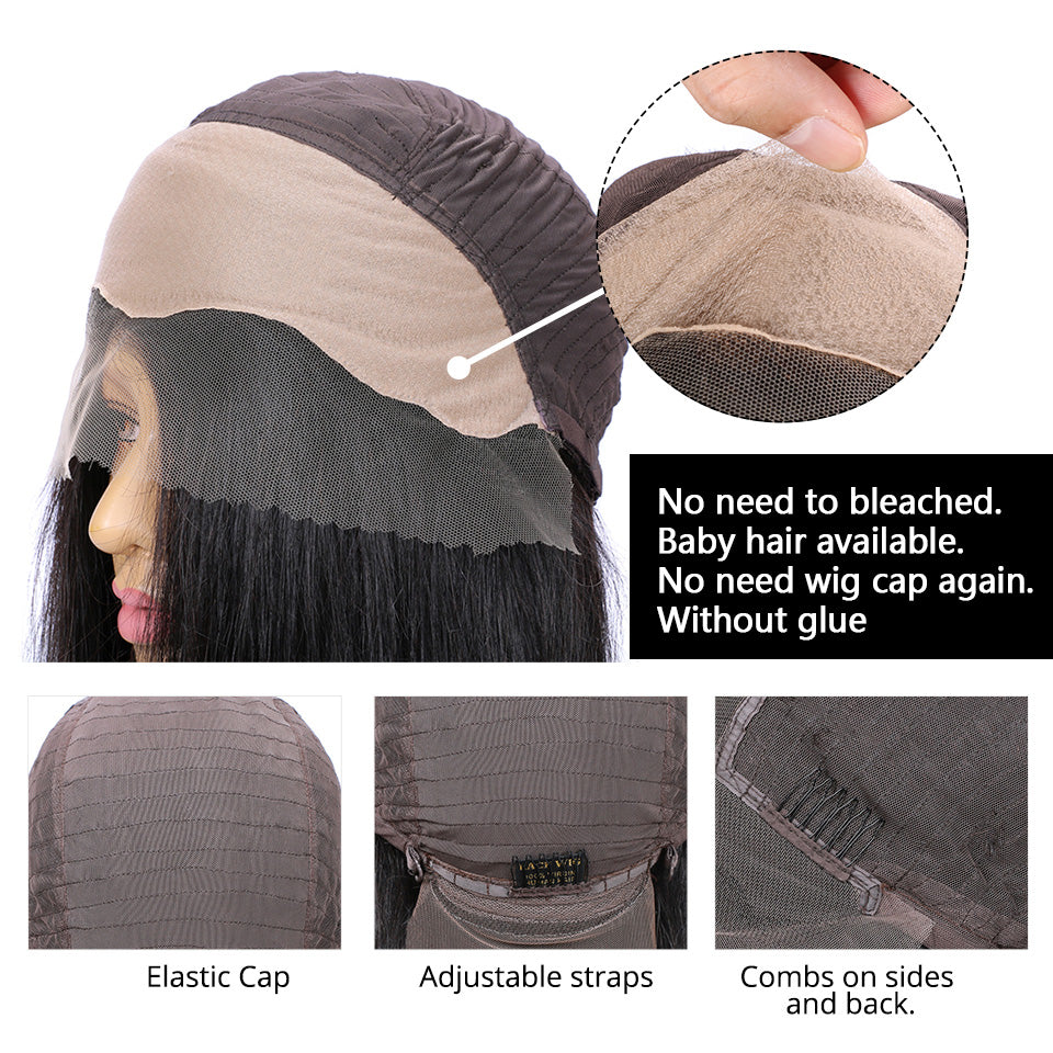 fake scalp wigs natural looking