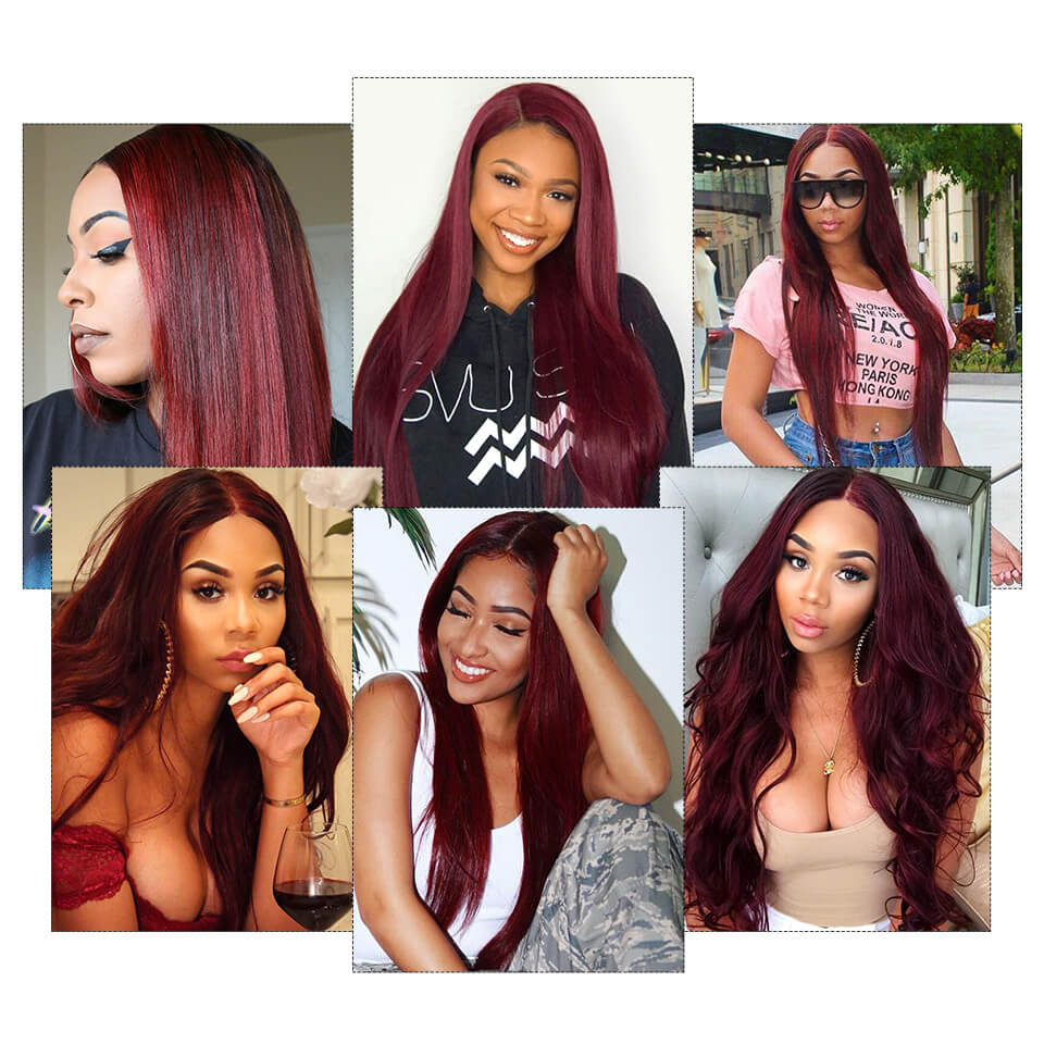 99jstraight human hair lace wigs