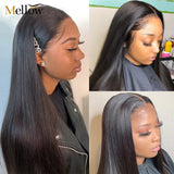 Mellow Straight Closure Wigs