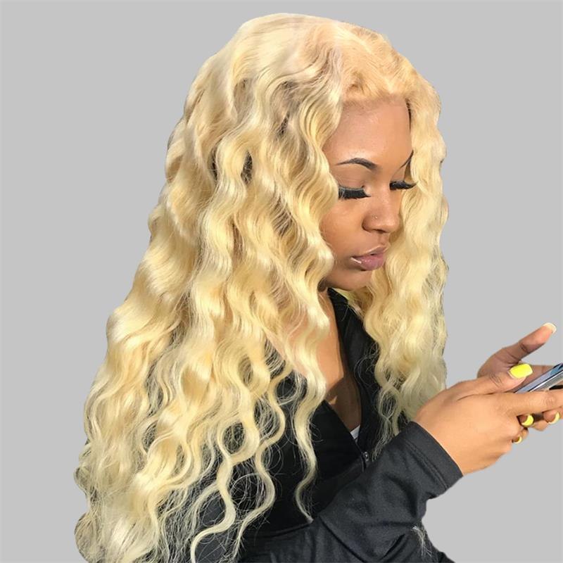 #613 deep curly 4x4 lace closure wig