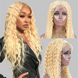 613 deep curly 5x5 lace closure wig