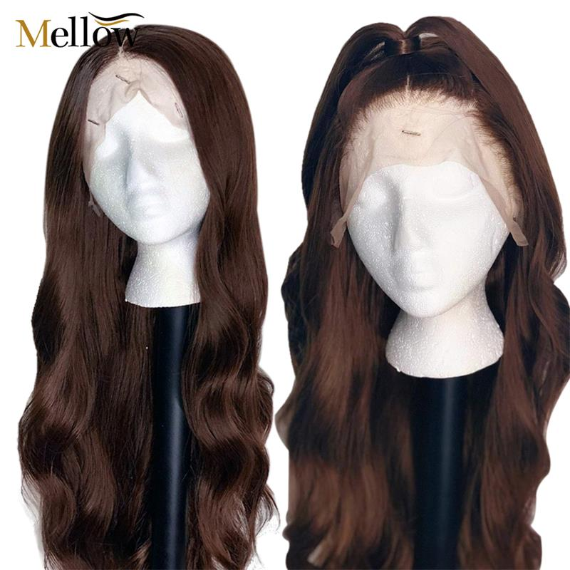 #4 colored body wave lace front human hair wigs