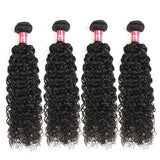 curly human hair 4 bundles