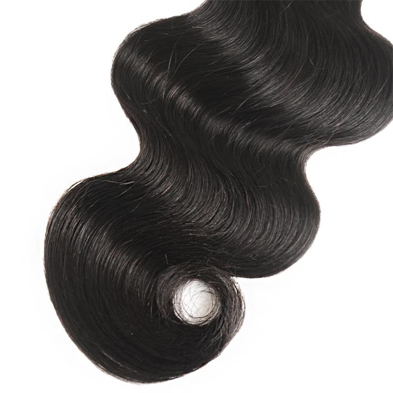 body wave human hair bundles with healthy ends