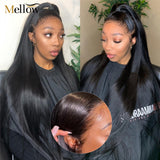Straight Lace Front Wigs Human Hair Wigs with baby Hair 13x4 Pre-plucked Wigs for Black Woman