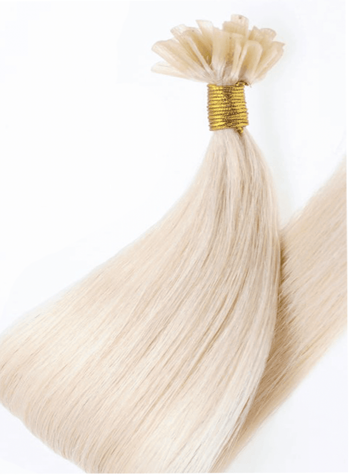 PRO DELUXE LINE Platinblond Keratin Bond Extensions