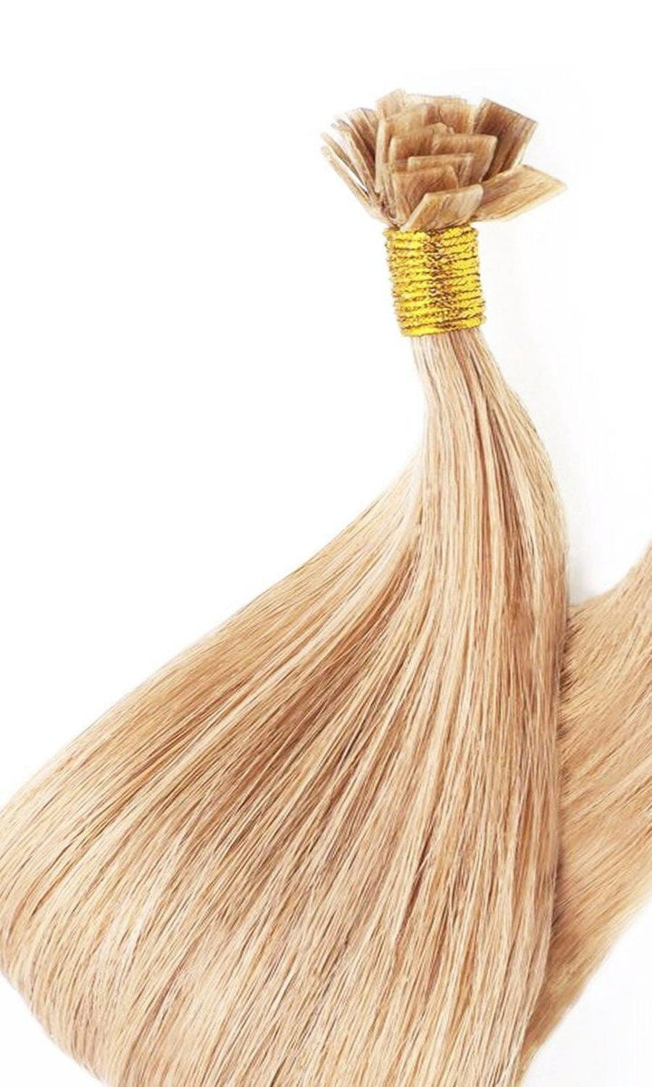 Pro Deluxe Honigblond Keratin Bonding Hair Extensions