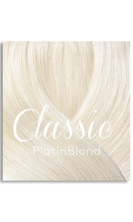 Platinblond Haarfarbe for Hair Extensions
