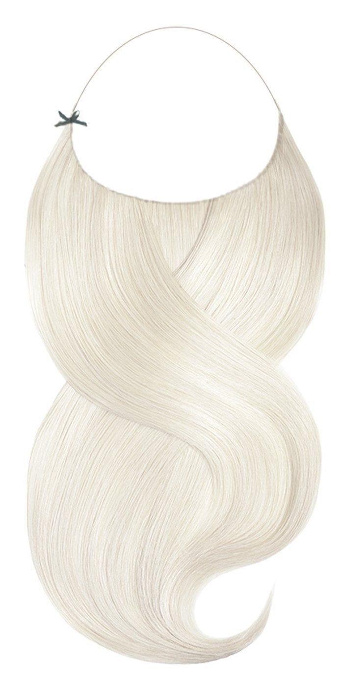 One Piece Platinblond Hair Extensions