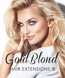 Fashion Line Goldblond Clip-in Extensions - 100% Echthaar
