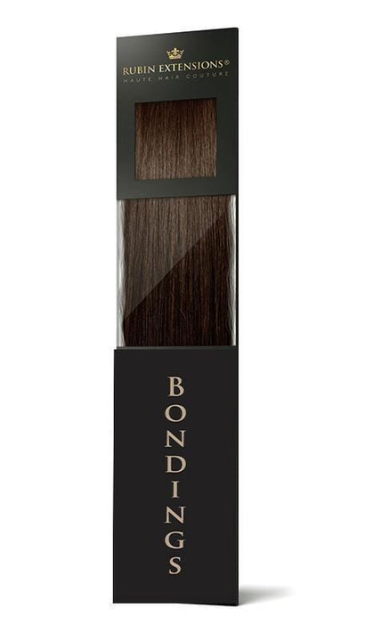 FASHION LINE Schoko-Dunkelbraun Keratin Bonding Extensions