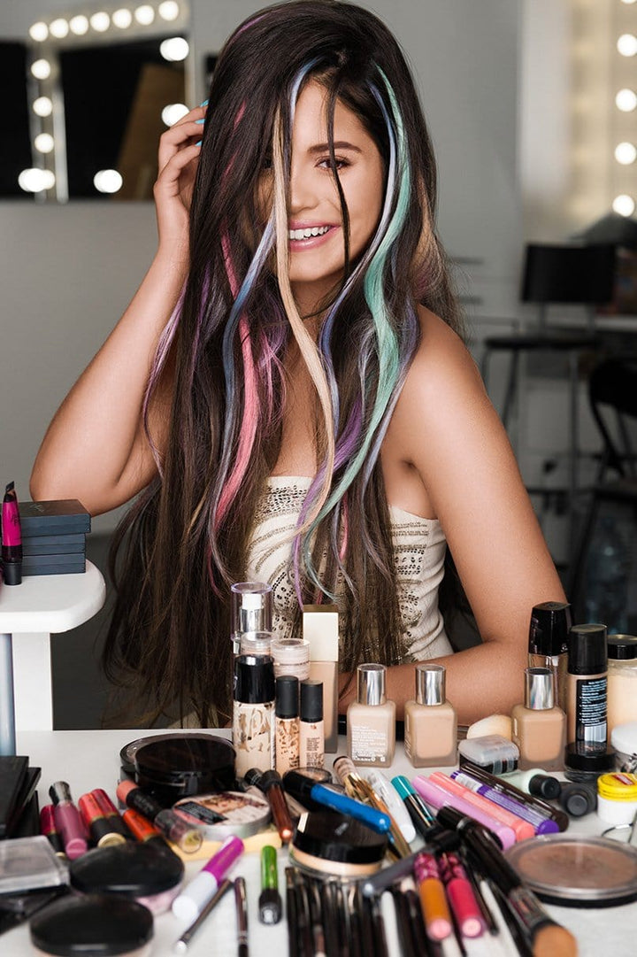 Colorful Tape-in Hair Extensions