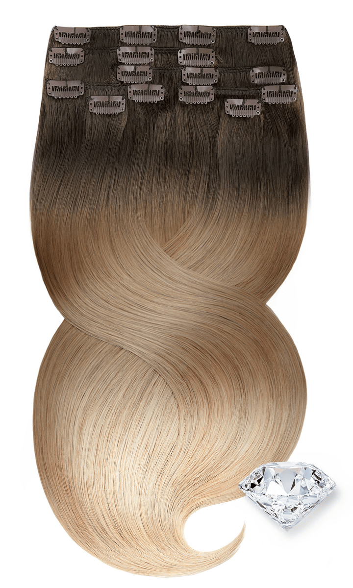 PURE DIAMONDS LINE Dirty Blond Clip-in Haarverlängerung