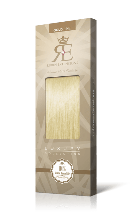 Goldblond Clip-in Fringe Extensions