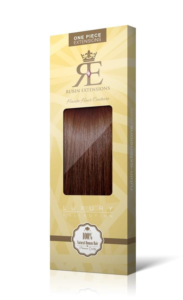 One Piece Mahagoni-Braun Hair Extensions