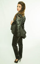 PVC  Semi Transparent Long sleeved Jacket