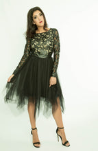 PVC Short tulle short dress