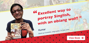 Singapore comedian Kumar recommends Singlish fairytale