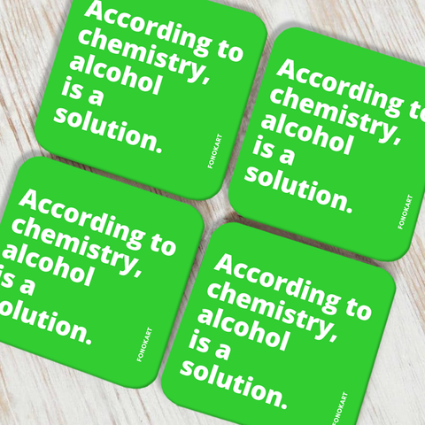Chemistry Coasters