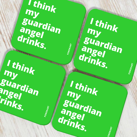 Guardian Angel Coasters