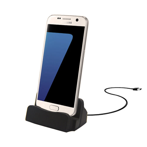 Micro USB Charging Dock - Black
