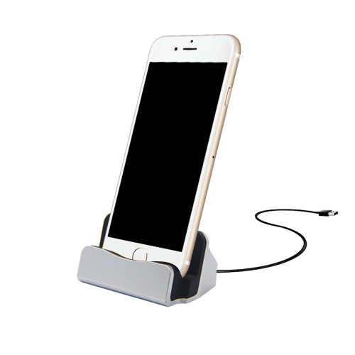 iPhone 8-Pin Charging Dock - Silver