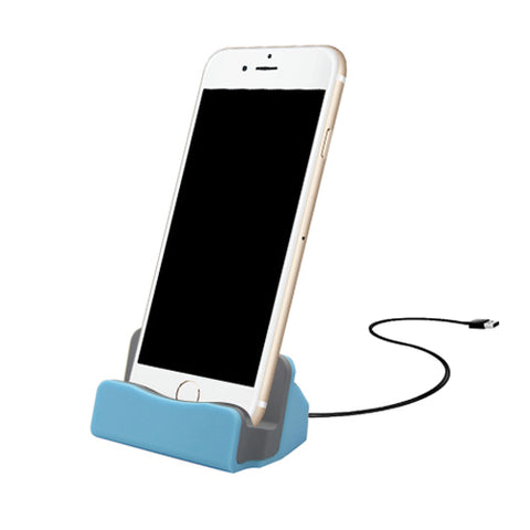iPhone 8-Pin Charging Dock - Blue