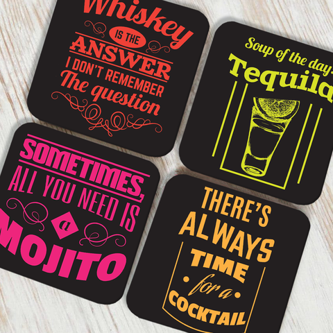 Soup Of The Day Coaster Set of 4