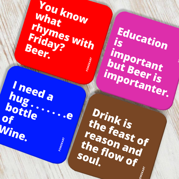 Importanter Coaster Set of 4