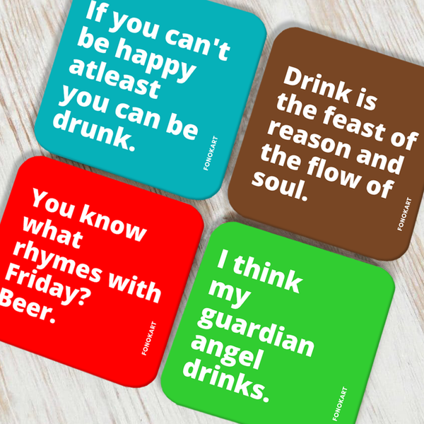 Flow of Soul Coaster Set of 4
