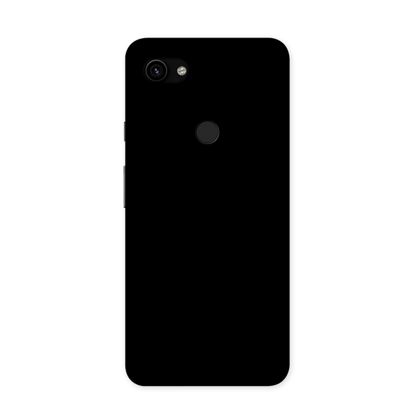 Solid Black Color Case for Google Pixel 3A XL