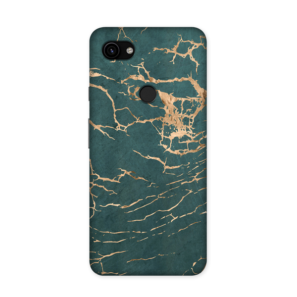 Marble Blue Case for Google Pixel 3A XL